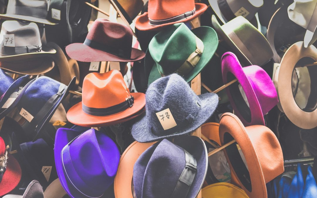 The art of switching hats